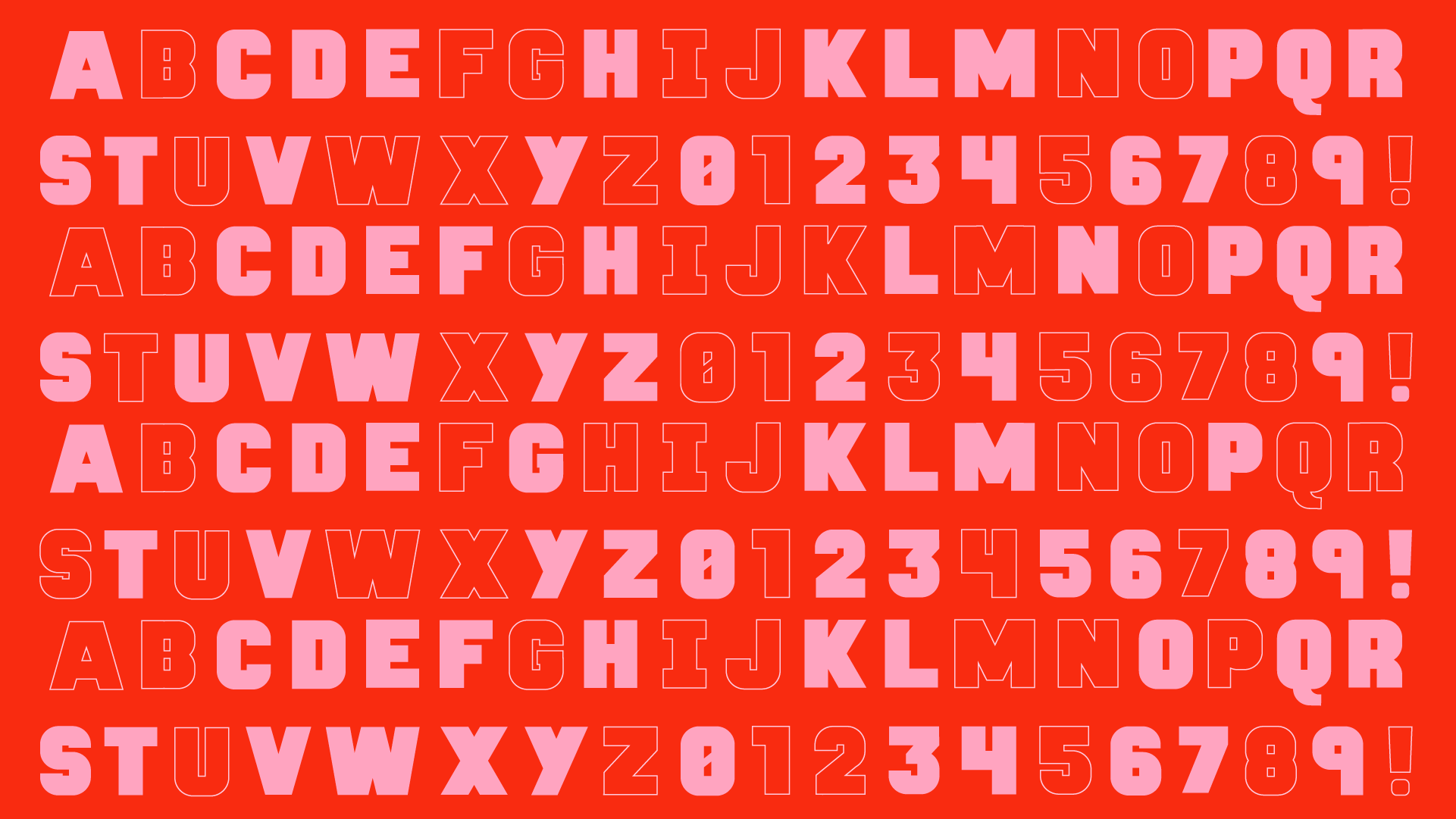 red-alphabet-07